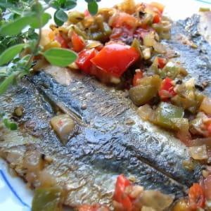 filets de sardines en escabèche