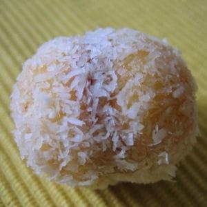 gâteau de noix de coco confiture