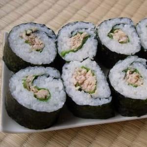 maki sushi au thon tekkamaki