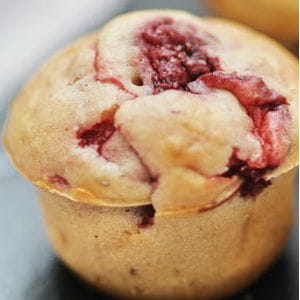 mini-muffins aux fraises et poivre de sichuan