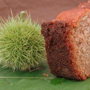 cake à la farine de châtaignes