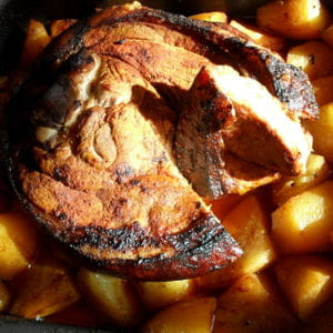 rouelle de jambon au paprika