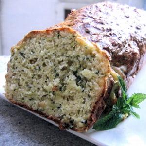 cake aux courgettes et parmesan