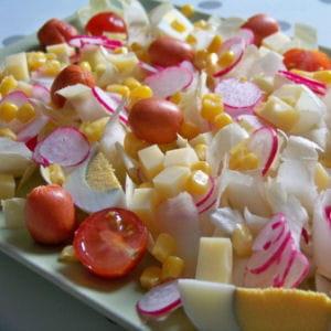 salade méli-mélo aux endives