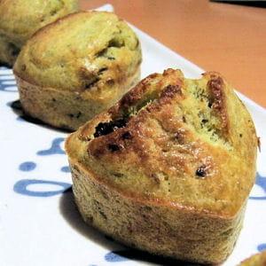 muffins pesto et tomates séchées