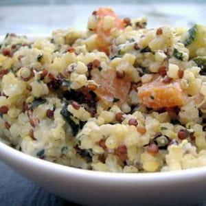 quinoa crémeux comme un risotto