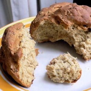 pain à la farine dequinoa