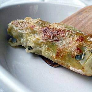 cannellonis aux épinards et à la ricotta