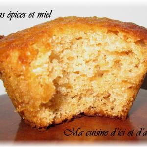 muffins épices et miel