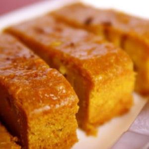 cake de patates douces aux notes exotiques