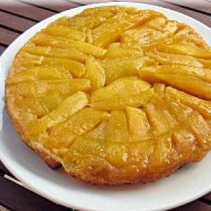 tarte renversée aux mangues