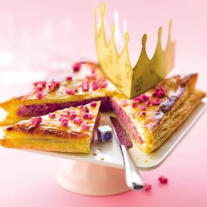 galette des rois praline rose-framboise