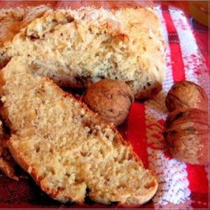 pain à la moutarde et aux noix