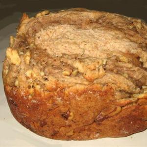 pain au noix et au gorgonzola