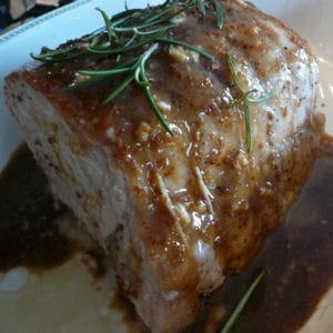 rôti de porc gingembre et soja