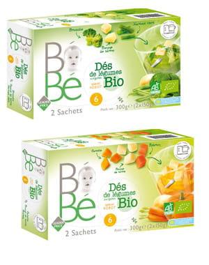 légumes surgelés bio leader price bébé