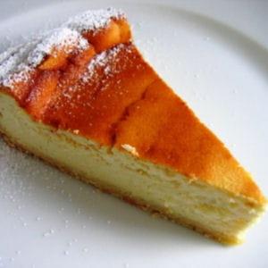 gâteau au fromage blanc (käsekuechen)