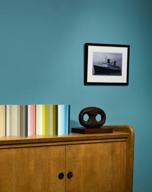 peinture f48 biscay bay de ressource et si on rafra chissait ses murs journal des femmes. Black Bedroom Furniture Sets. Home Design Ideas