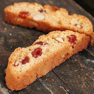 biscotti aux amandes et cerises séchées