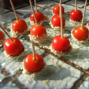 tomates d'amour craquantes