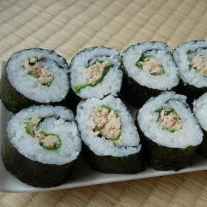 maki sushi au thon (tekkamaki)