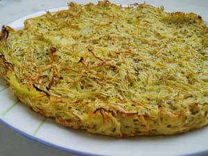 galette de pommes de terre et céleri rave