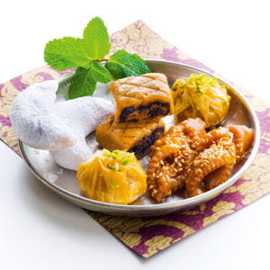 les pâtisseries orientales de picard