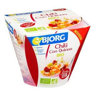le chili con quinoa de bjorg