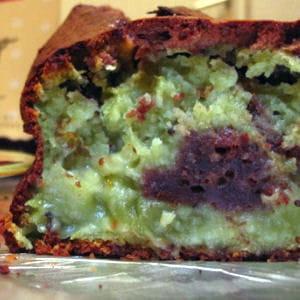 cake marbré choco-kiwi