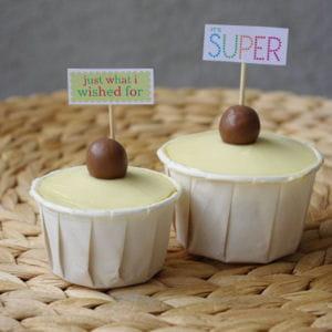 cupcakes au pralin et maltesers