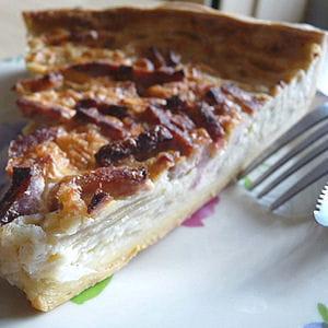 tarte pimentée à l'oignon