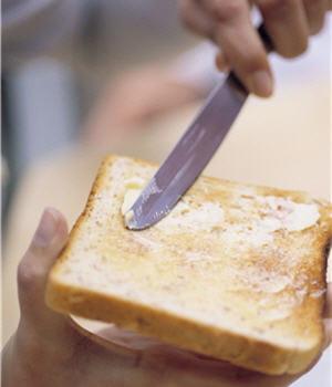 pour vos tartines, préférez la margarine.