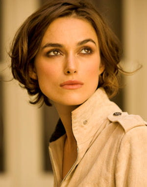 le carr flou de keira knightley 