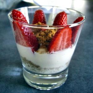 verrine fraise mascarpone spéculos