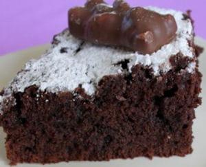 moelleux au chocolat des oursons