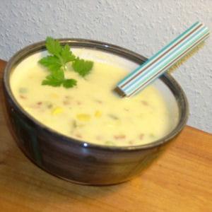velouté de maïs à la mexicaine