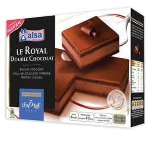 royal double chocolat d'alsa et lenôtre