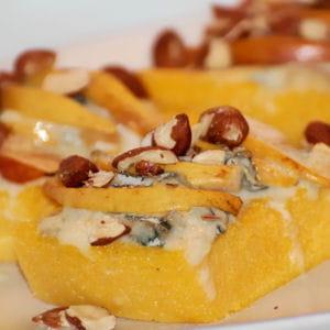 polenta au gorgonzola
