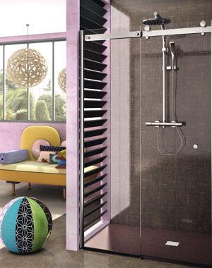 color e douche l 39 italienne adoptez la tendance journal des femmes. Black Bedroom Furniture Sets. Home Design Ideas