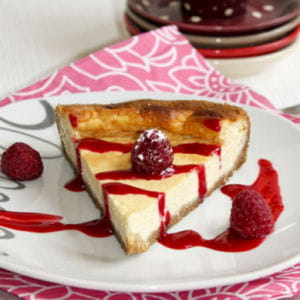 cheesecake à la vanille