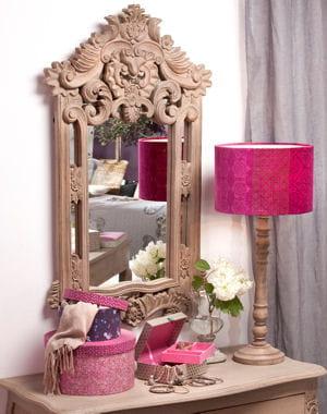Sculpture en bois des miroirs tr s d co journal des femmes for Miroir jardin d ulysse