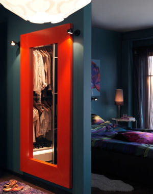 color block des miroirs tr s d co journal des femmes. Black Bedroom Furniture Sets. Home Design Ideas