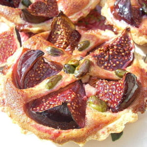 tartelettes aux figues à la crème d'amande