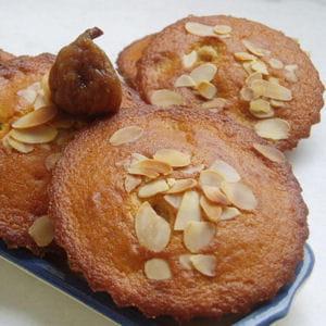 gâteaux aux figues à la vanille