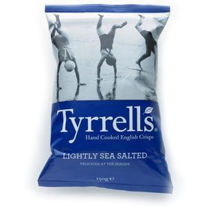 chips légèrement salées de tyrrells