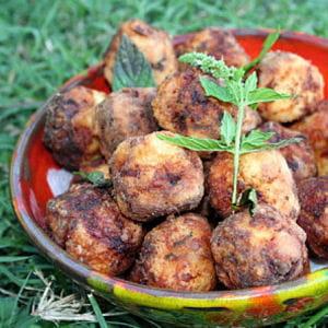 boulettes de poulet au cumin