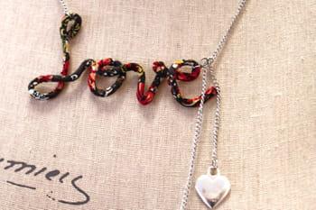 DIY : le collier LOVE pour la Saint-Valentin