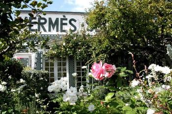 Le jardin secret de la maison Hermès