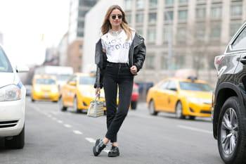 Street style aux défilés prêt-à-porter automne-hiver 2015-2016 de New York