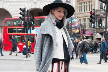 Street style aux défilés prêt-à-porter automne-hiver 2015-2016 de Londres